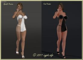 First Poser Pro 2012 Render by Y-Phil