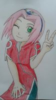 Art Trade: Haruno Sakura by NARUFRO93