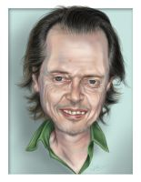 Steve Buscemi Illustration by jweb3d