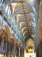 Lincoln cathedral 23, inside by Samcatt