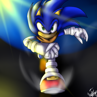 Sonic Boom Sonic by Mariatiger