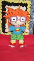 chuckie from rugrats by Blue-Strawberryy