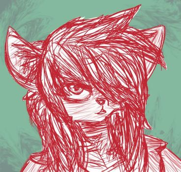 Ruby The Wolf by Shrapnel-Scraps