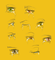 Crying eyes - reference sheet by rivaste