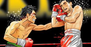 Manny Pacquiao vs Erik Morales by TheodoreTheThird