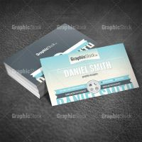 Modern Business Card by graphicstock