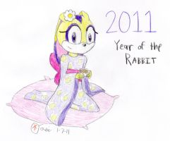 Year of the Rabbit by supercomputer276