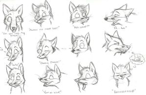 Fox Expressions by xLossen