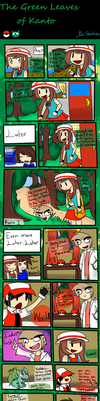 The Green Leaves of Kanto Part 1 by StinkiesDraws