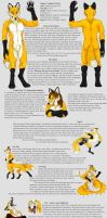 Lance foxx reference sheet by CunningFox
