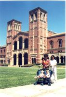 first day at ucla by gaston