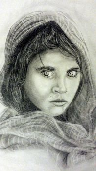 afghan girl by juanma8585