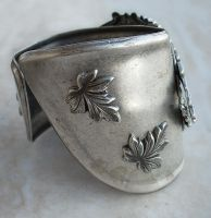 Silver Winged Cuff Watch -2 by Aranwen