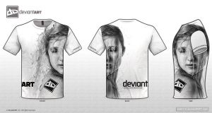 dA T-shirt 'Flow' by kelch12