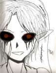 BEN DROWNED ::Black and White:: by hetaliagirl101
