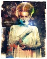 The Bride of Frankenstein by turk1672