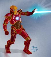 Iron Man: Project Rooftop by mebooky