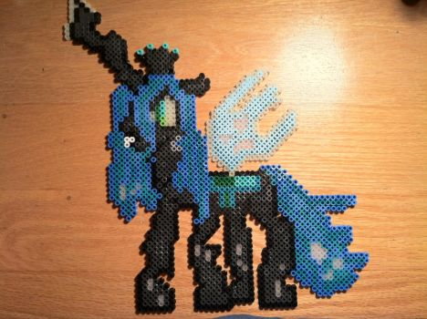 Queen Chrysalis Bead Art by BreeFaith