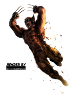Wolverine Render by chingorolo