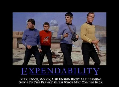 Expendability by iWyldIce