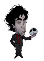 CARICATURES: TIM BURTON by Zuccarello