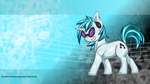Dj Pony Wallpaper by BardicSpoon
