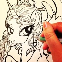 Pony Elsa WIP by TermanianStar