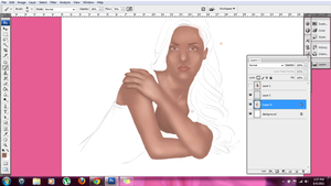 WIP.... by pinkmonra