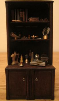 Cupboard With Magic Objects by AtriellMe