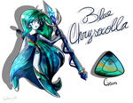 Blue Chrysocolla by RociDrawings97