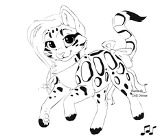 lineart for agavny by kyoyaskitten130