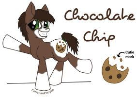 Chocolate Chip by ChristianPony99