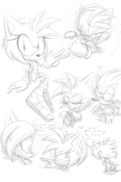 Amy boom sketches by Eokoi
