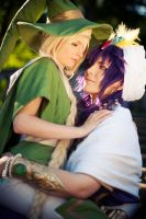 Yunan and Sinbad - Magi by KashinoRei