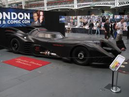 The Batmobile (from a drifferent angle) by ZeroKing2015