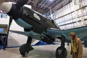 Ju87 Stuka - RAF Museum by PhilsPictures