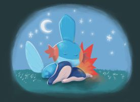 Pokemon Nap by tinysnail
