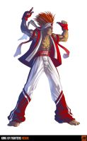 King of Fighters Redux: Joe by digitalninja