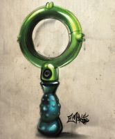 DG Magnifying Glass Sketch by aMorle