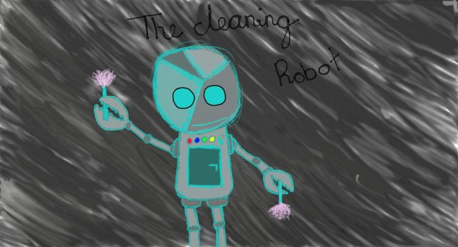 Cleaning robot by klaudia120899