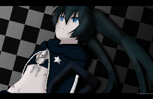 Black Rock Shooter by TheLadyClockWork