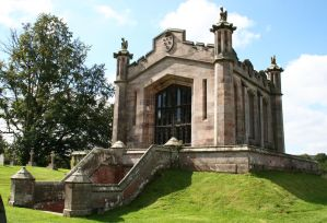 Lowther Castle Mausoleum 2 by OghamMoon