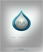H2O logotype by Swylean