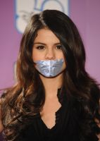 Selena Gomez taped by ikell