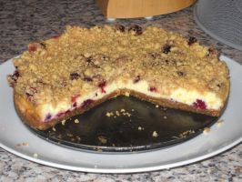 Blackberry Cheesecake - Sliced by Bisected8