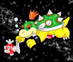 Zodiac Mario_The Fishes by Sedna93