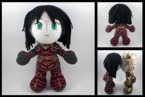 Dragon Age - Warden plushie by eitanya