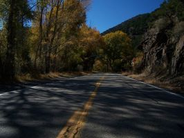 New Mexico Canyon Road - color by Barn0wl