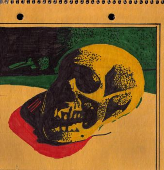 Skull Copy of A Master by brula