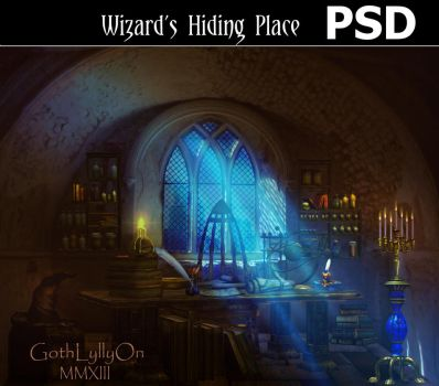 Wizard's Hiding Place-by-GothLyllyOn-August-MMXIII by GothLyllyOn